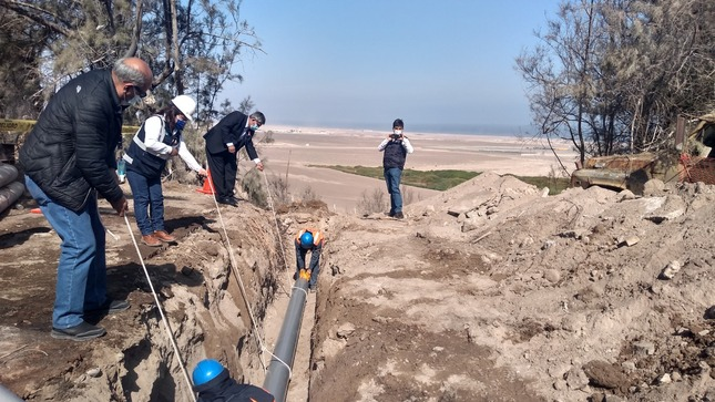 EPS Ilo renovará tubería de agua con inversión de más de S/ 1.5 millones provenientes del Otass