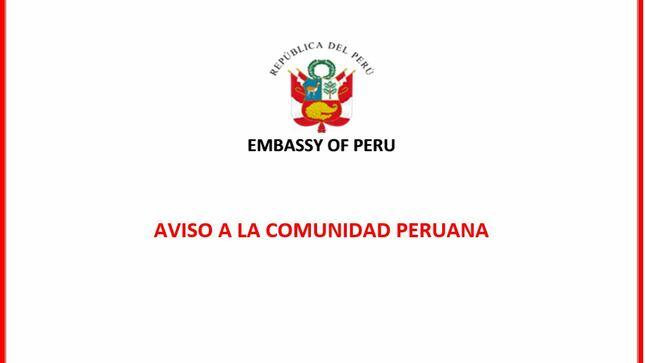 Registro de Peruanos Vacunados en el Exterior