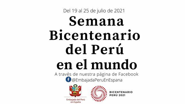 ¡Semana Bicentenario del Perú en el mundo !