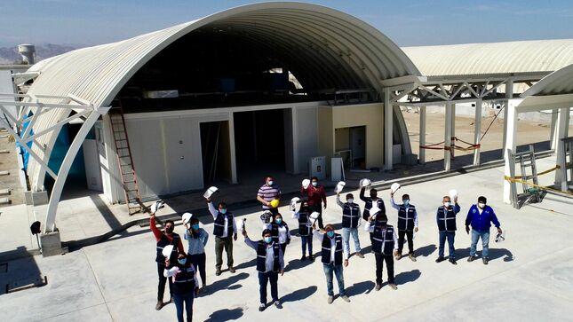 Ica: infraestructura del primer hospital modular del país será culminada en las próximas semanas