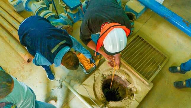 Comuna provincial realiza estudio técnico para proyecto de agua potable y alcantarillado en el A.H Ñacara