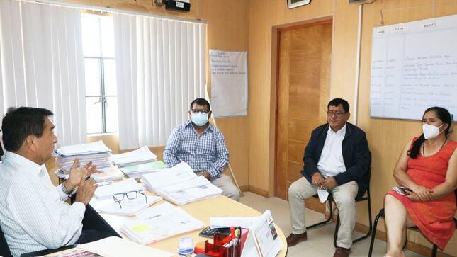 Coordinaciones para la construcción del Campus Universitario de la Universidad Católica Sede Sapientiae