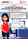 Vista preliminar de documento Guía para el acceso y uso de la aplicación Usuario OMAPED del Programa CONTIGO