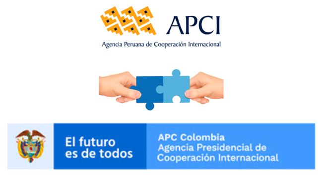 Agencias de Cooperación de Perú y Colombia revisan avance de programa de cooperación
