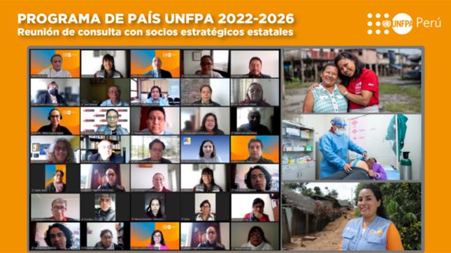 UNFPA presenta propuesta del Programa País 2022 – 2026