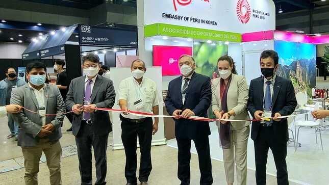 Destacada participación del Perú en la Feria Coffee Expo Seoul