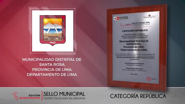 SELLO MUNICIPAL -Gestión local para las personas
