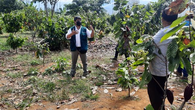 Beneficiarios Sistema de irrigación Pangoa