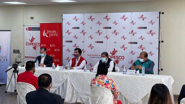 Inauguración de Obra OCER Huánuco por Plan COPESCO Nacional