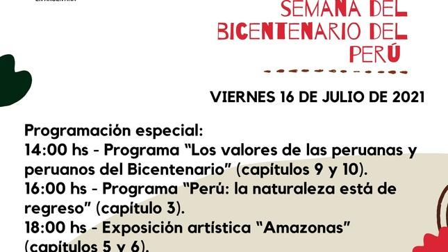 Semana del Bicentenario del Perú en el mundo - 2° parte