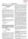 Vista preliminar de documento Texto Único Ordenado de la Ley N° 27806, Ley de Transparencia y Acceso a la Información Pública