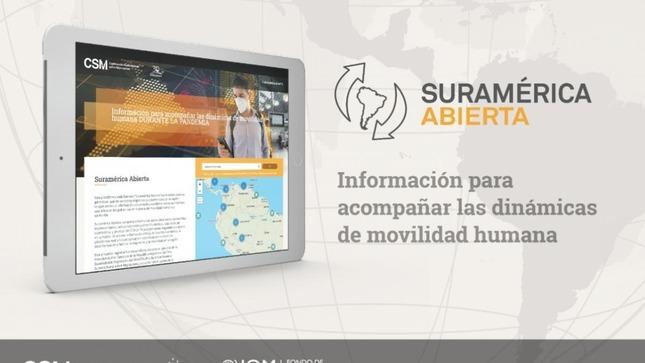 Aplicativo Suramérica Abierta