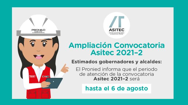 ASITEC: ampliación de la convocatoria 2021-2