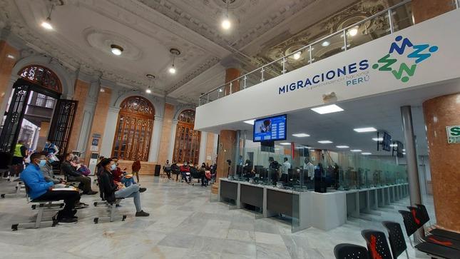 Se habilita agencia Carabaya en el Centro de Lima para trámites de extranjeros