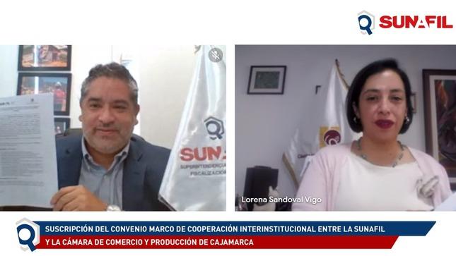 SUNAFIL y Cámara de Comercio de Cajamarca articulan esfuerzos para lograr mayor formalización de trabajadores y menos riesgos laborales