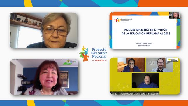 CNE destaca papel de docentes y familias en implementación del PEN y la importancia de una mejor conectividad
