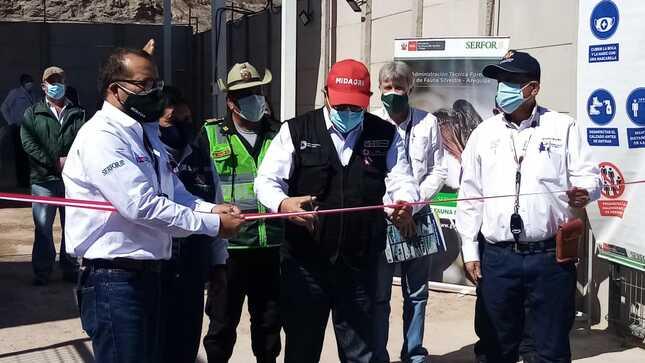 SERFOR pone en marcha nuevo Puesto de Control en Arequipa