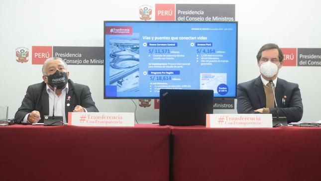 MTC destacó reactivación de proyectos regionales de banda ancha y MINEM presentó avances en masificación del gas natural y electrificación