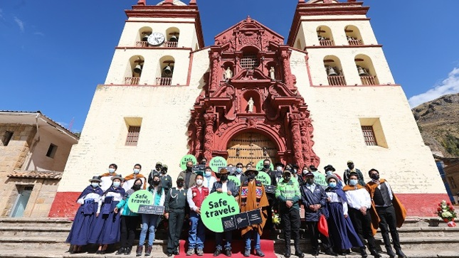 Destino Huancavelica obtuvo el sello internacional Safe Travels