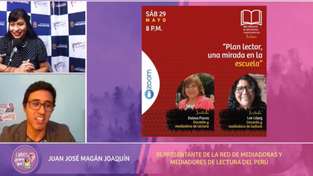 Libros ¿para qué? Conociendo la Red Peruana de Mediadoras y Mediadores de Lectura