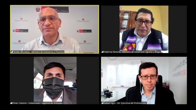 MEF emitió opinión favorable a la Adenda 13 del proyecto Majes Siguas II que generará miles de empleos en Arequipa