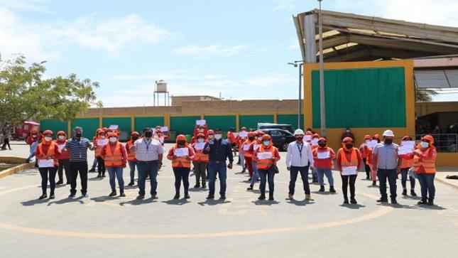Clausura del proyecto Trabaja Perú en El Alto