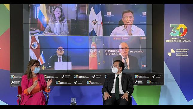 Diálogo de cancilleres en conmemoración de los 30 años de Cumbres iberoamericanas