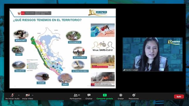 Regidores de Lima y Arequipa fueron capacitados en gestión prospectiva y correctiva del riesgo de desastres
