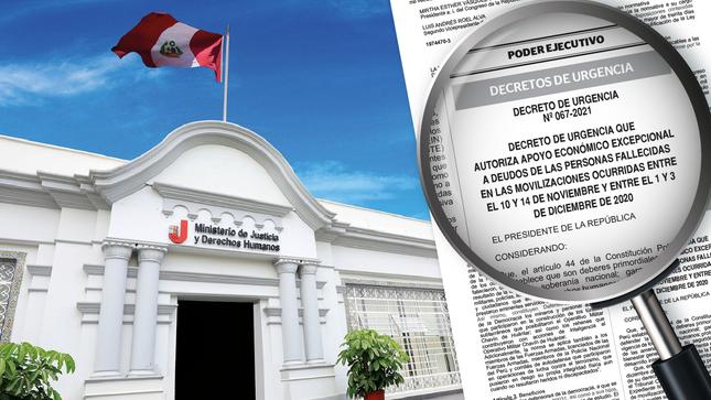 Gobierno aprueba otorgar apoyo económico  a deudos de Inti Sotelo, Bryan Pintado y Jorge Muñoz
