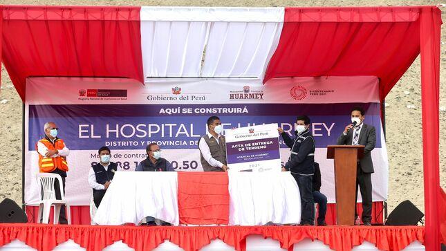 Áncash: inició la construcción del nuevo Hospital de Huarmey