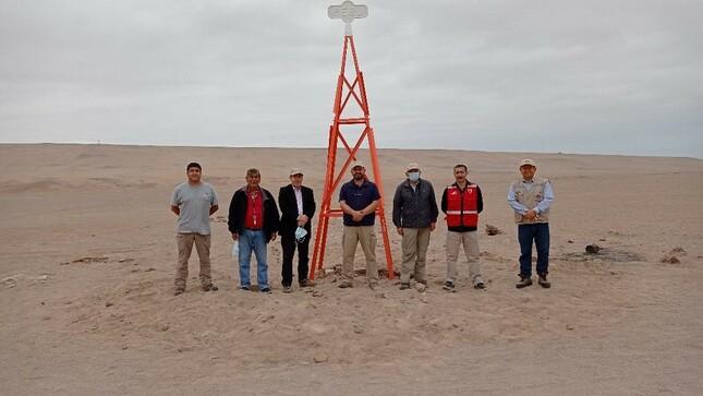Instituto Geográfico Nacional brinda asistencia técnica de Geodesia al Ministerio de Relaciones Exteriores en los trabajos de la frontera Pe