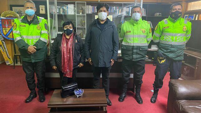 Alcalde de Pasco y PNP se reúnen para reforzar la seguridad ciudadana en la ciudad
