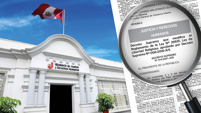 Ejecutivo modifica Reglamento de Ley de Libertad Religiosa para optimizar derecho a la libertad religiosa en ámbito individual y colectivo