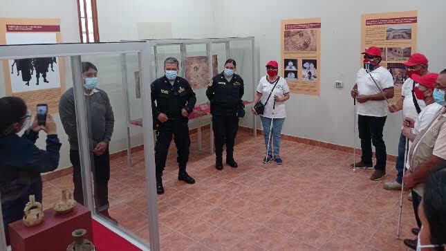 Museo Huaca Rajada Sipán inaugura primera  exposición museográfica con  textos en escritura braille