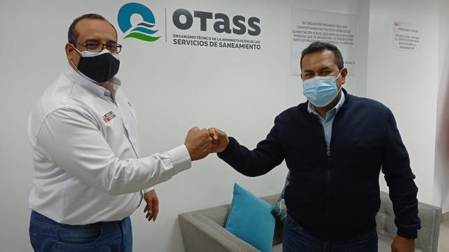 OTASS y Municipalidad de Chiclayo articulan acciones frente a problemática de los servicios de saneamiento