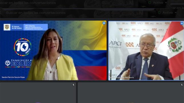 APCI y APC-Colombia trabajan en conjunto  la cooperación bilateral