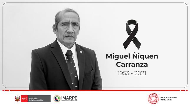 In Memoriam a Miguel Ángel Ñiquen Carranza