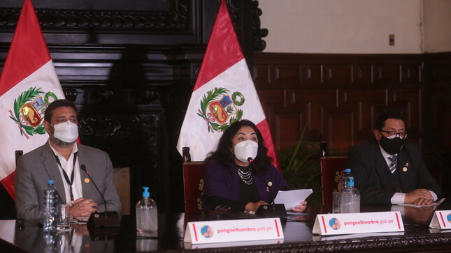 Gobierno de transición y emergencia aprobó 14 políticas nacionales en ocho meses de gestión, destaca premier Violeta Bermúdez