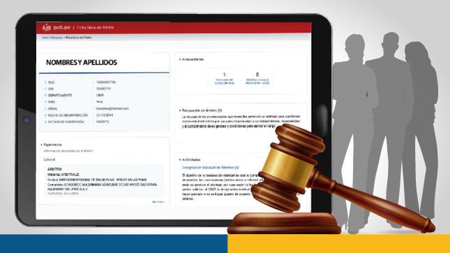 OSCE incorpora de forma excepcional a árbitros al Registro Nacional de Árbitros en cumplimiento de dispositivo legal