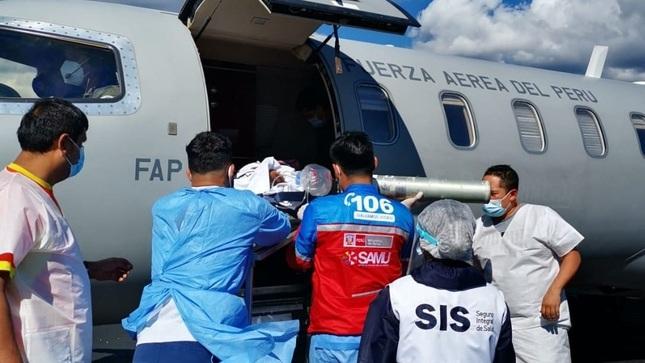 Traslados aéreos de emergencia financiados por el SIS salvaron vida a más de 1,400 asegurados durante la pandemia