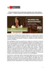 Vista preliminar de documento Mujeres del Bicentenario: Embajadora María Eugenia Echeverría