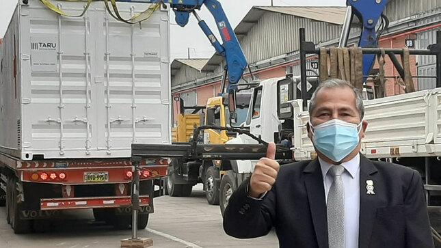 Planta de oxigeno llegó a Cañete y hoy es una realidad