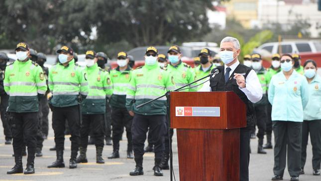 Reconocen a héroes de la PNP por su labor en primera línea contra la covid-19