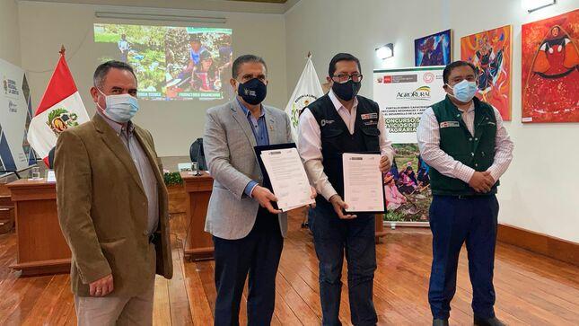 MIDAGRI: Nuevo Agro Rural presenta el I Concurso SEAR 2021 - Servicios De Extensión Agraria Rural en 11 departamentos del país