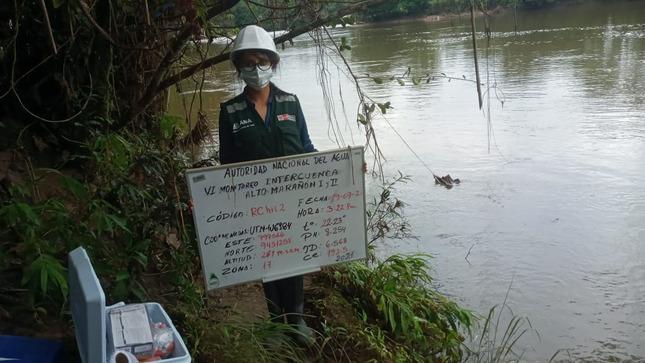 Realizan monitoreo de la calidad de las aguas en cuencas hidrográficas de Amazonas