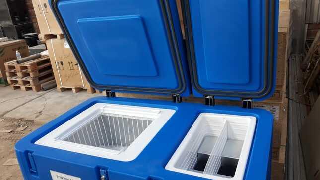 Diresa entregó refrigeradoras-congeladoras fotovoltaicas a redes de salud Utcubamba y Bagua