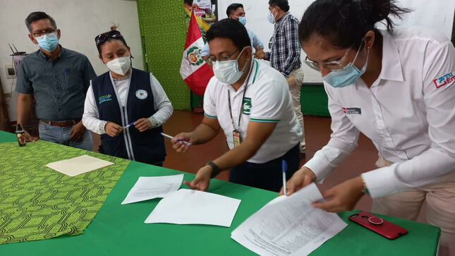 Maynas presentó Agenda Territorial Provincial Hambre Cero