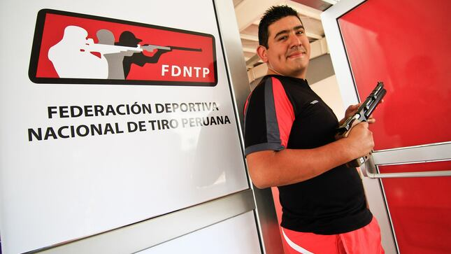 Tirador peruano Marko Carrillo inicia su participación en los Juegos Olímpicos Tokio 2020