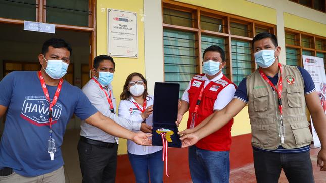 Loreto: Más de 400 familias kichwas y achuar mejorarán su calidad de vida en recién inaugurado Tambo Nuevo Andoas en frontera con Ecuador