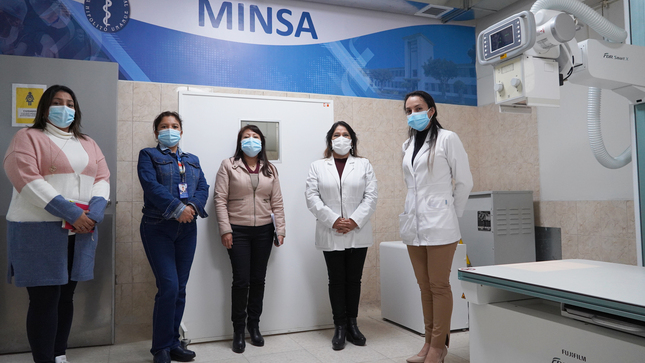 Hospital Nacional Hipolito Unanue Inauguró tres modernos equipos de Rayos X